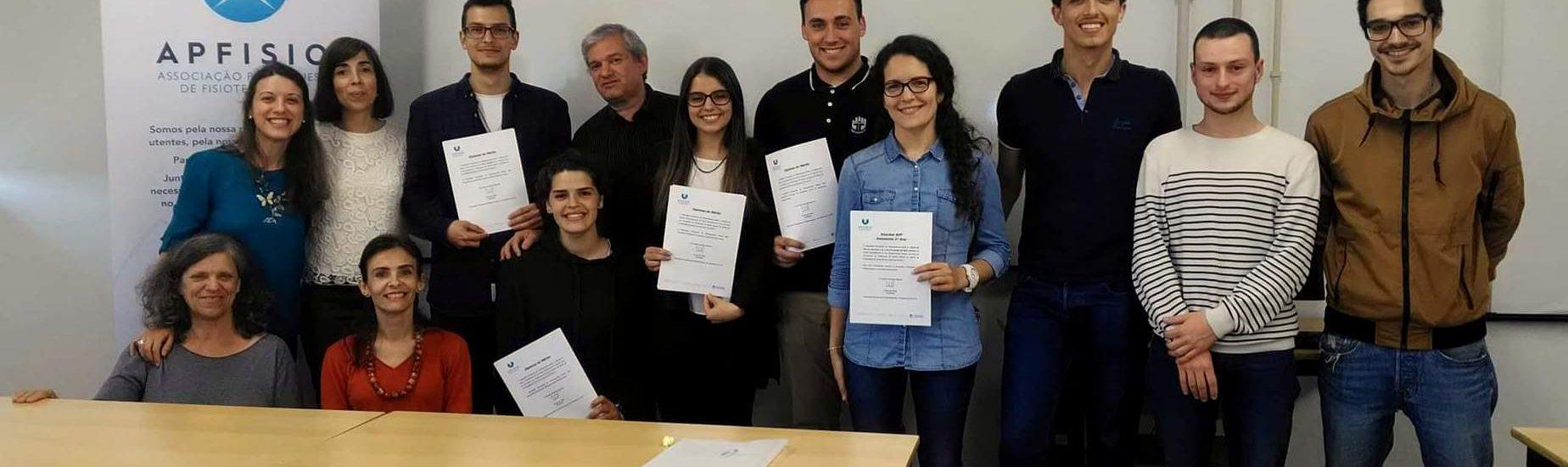 APFISIO reconhece o mérito académico dos alunos da ESSUA