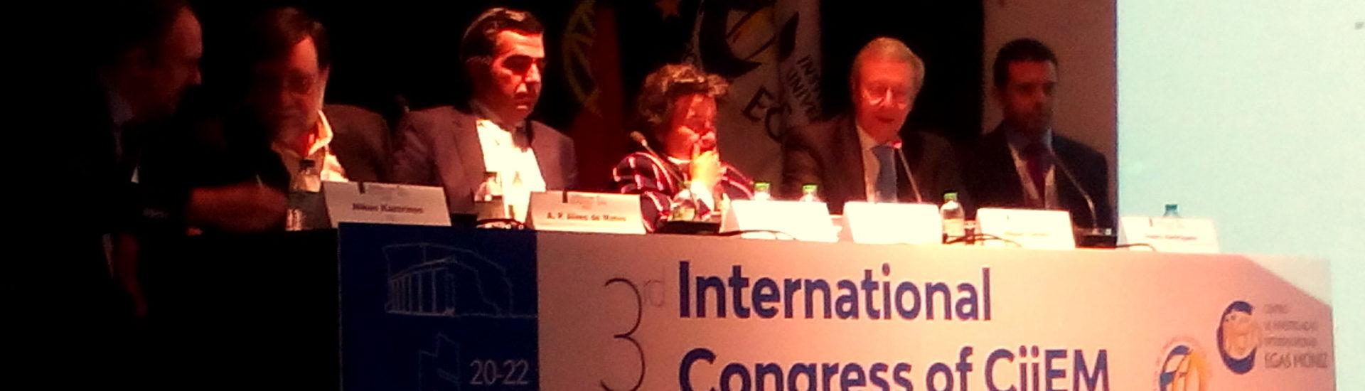 A APFISIO esteve no 3º Congresso Internacional do CiiEM